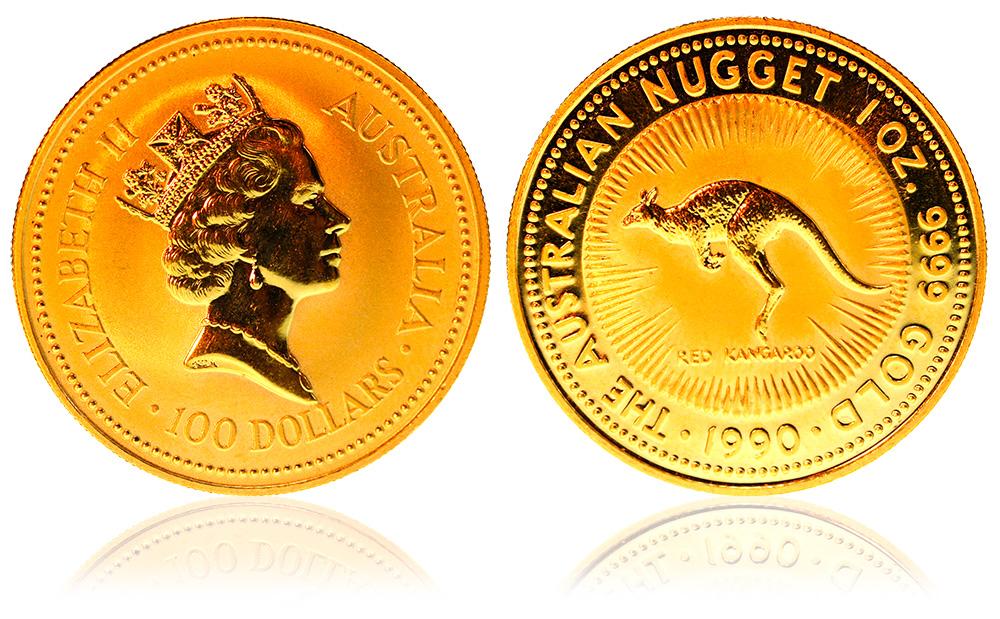 Australian Nugget d'oro